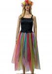 Women's Adult Fairy Dress Costume Adult Fairy Black Rainbow