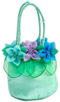 Fairy Bag Flower Mint and Lilac