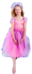 Girls Fairy Dress Costume Swan Pink and Lilac