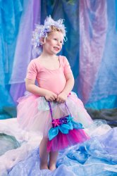 Fairy Bag Organza Flower Bag Midnight