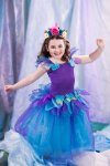 Girls fairy dress costume Frozen Midnight Fairy Dress