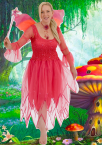 Women's Adult Fairy Costume Adult Fairy Dress Hot Pink