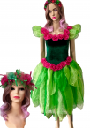 Women's Adult Tinkerbell Costume Adult Fairy Dress Tinkerbell