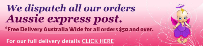 Free Express Postage Australia Wide.Excludes Fairy Wings